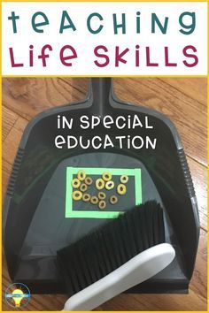 Functional Life skills are routine activities that are necessary for independent living. Eating, toileting, cooking, and having appropriate conversations are all examples of basic life skills. Sometimes youll hear teachers refer to these skills as Life Skills Lessons, Special Education Activities, Life Skills Classroom, Teaching Life Skills, Social Skills Activities, Autism Activities, Special Education Classroom, Autism Classroom, Future Classroom