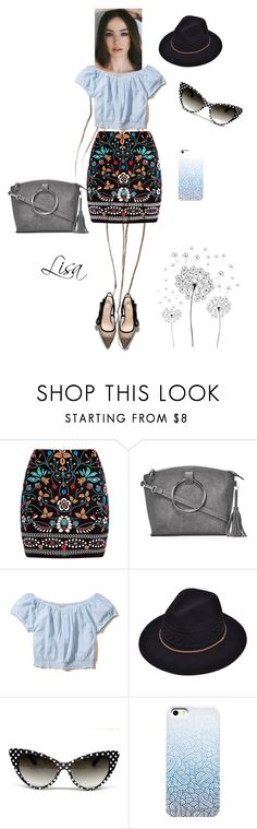 """We girls, can do anything"" by coolmommy44 ❤ liked on Polyvore featuring Marni, Nasty Gal, Hollister Co. and jcp"