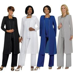 Wholesale Mother of Bride Dresses - Buy Three Pieces Jacket Long Sleeve 2015 Sheath Mother of the Bride Dresses Trousers Crew Neck Chiffon Mother's Pants Suit Wear Groom Gowns Hot, $104.5   DHgate.com