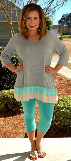 Perfectly Priscilla Boutique - Grey Skies With A Chance Of Rain Tunic, $38.00 (http://www.perfectlypriscilla.com/grey-skies-with-a-chance-of-rain-tunic/)