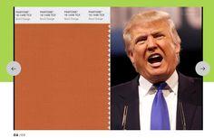 Sonntags-Thema: Welcher Pantone-Wert entspricht Donald Trumps Hautfarbe? - http://ift.tt/2c1dHJd