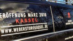 Weber Original Store Kassel – Klaus Breinig eröffnet den weltweit zweiten Weber Store