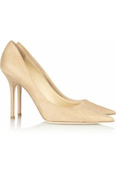 LUSTING after this classic nude @jimmychooltd pump #GetInMyCloset