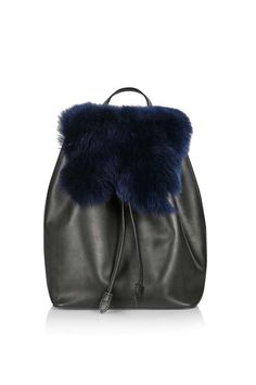 Shearling Backpack | Topshop
