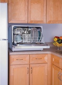 Haier Energy Star Countertop Portable Dishwasher 6 Place Setting Hdc2406tw Ebay