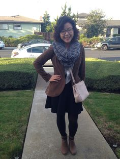 Perfect dressy outfit during the winter