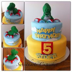 Rex Toy Story Cake  Cake by Sweetharts Cupcakes