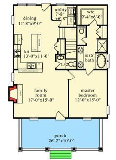 Rustic Escape With Bunk Room - 9744AL | Cottage, Country, Mountain, Vacation, Narrow Lot, 1st Floor Master Suite, CAD Available, PDF | Architectural Designs