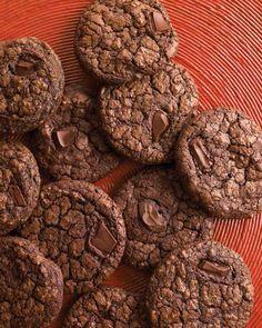 Dark-Chocolate Cookies with Espresso