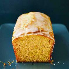 Lorraine Pascale's Lemon yogurt pound cake with a tangy citrus glaze Recipe   delicious. Magazine free recipes