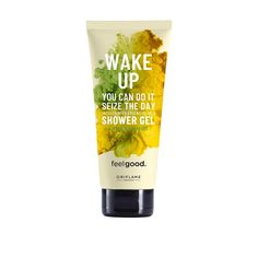 Wake Up Feel Good -suihkugeeli Oriflame Beauty Products, Best Makeup Products, Pure Products, Face Wash, Body Wash, Oriflame Business, Aqua, Protein Blend, Shower Gel
