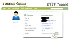 Tunnel Guru Premium Account 2016 By trickrobo {UPDATED}