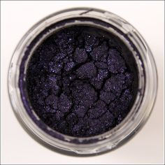 Starless Night is a violet purple over a blackened-purple base with silver and blue sparkle. Mac.