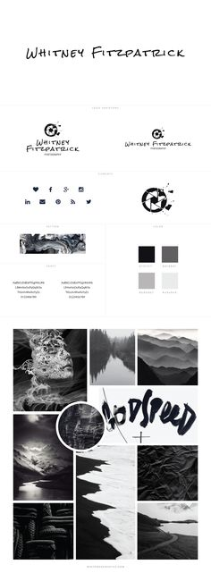 Whitney FitzPatrick Branding + Web Design By White Oak Creative