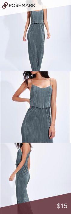 96fa5476fd1 Khaki Pleated Cami Maxi Dress Khaki Pleated Cami Maxi Dress Dresses Maxi