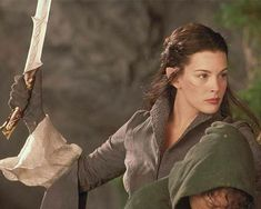 "Liv Tyler, ""The Lord of the Rings"", 2003 #sword"