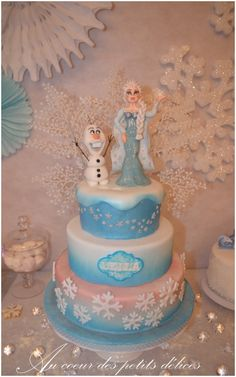 1000 images about gateau on pinterest frozen birthday. Black Bedroom Furniture Sets. Home Design Ideas