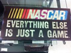 Except hockey, hockey IS everything, but NASCAR is up there right along side. Nascar Room, Nascar Cars, Nascar Racing, Nascar Quotes, Racing Quotes, Kurt Busch, Chase Elliott, Nascar Sprint Cup, Just A Game