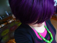 cabelo roxo