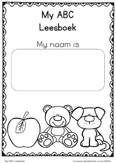 Preschool Learning, Educational Activities, Teaching, 1st Grade Math Worksheets, Worksheets For Kids, Afrikaans Language, Cute Coloring Pages, Writing Skills, Kids Education