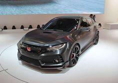 Honda Civic Type R Prototype mondial paris 2016
