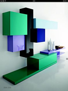 www.2bitalia.it Modern Wall Units, Bed Platform, Dressing Room Design, Bottle Holders, Tv Unit, Drawing Room, Entertainment Center, Decoration, House Colors