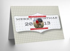 Free 5×7 Holiday Card Photoshop Templates #photography