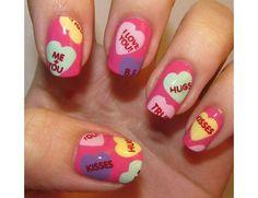 Valentine's Day Art Work   The Season of Love: Valentine's Day Nail Art Designs