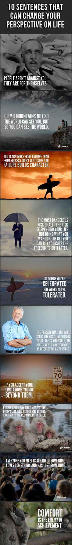 10 Sentences that Can Change Your Life