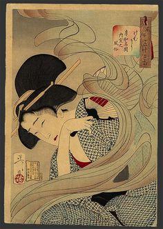 by Tsukioka Yoshitoshi, Japan