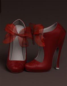 The Butchers Bride, high heels by SubversiveGirlArt on deviantART