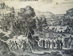 The Phillip Medhurst Picture Torah 170. Dinah and Shechem. Genesis cap 34 v 1. Borcht