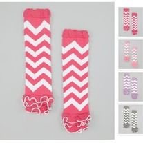 I can't get enough of these adorable chevron leg warmers! One of my top favorites! Available in five different colors!