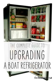 Four items to consider if you're thinking of installing or changing your boat refrigerator to make sure you end up with a system that meets your needs.