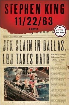 ON NOVEMBER 22, 1963, THREE SHOTS RANG OUT IN DALLAS, PRESIDENT KENNEDY DIED, AND THE WORLD CHANGED. WHAT IF YOU COULD CHANGE IT BACK?    In this brilliantly conceived tour de force, Stephen King—who has absorbed the social, political, and popular culture of his generation more imaginatively and thoroughly than any other writer—takes readers on an incredible journey into the past and the possibility of altering it.
