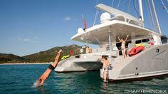 70' Sunreef Catamaran, Accommodates 11 Guests