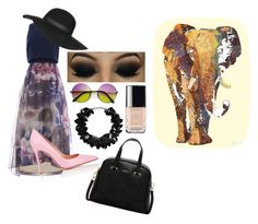 """""""Alittle something."""" by caroline-weaver on Polyvore featuring Gianvito Rossi, Topshop, First People First, Furla, Chanel, women's clothing, women, female, woman and misses"""
