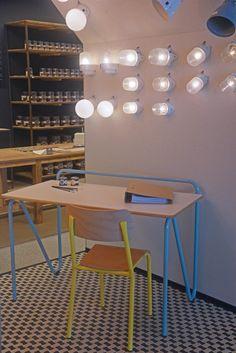 David U0026 Goliath Ghent   Modernized School Furniture By Declercq