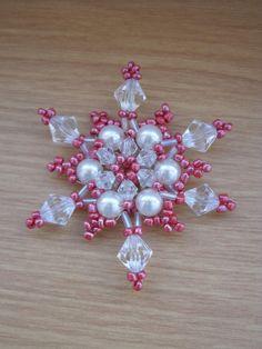 Dekorácie - červená vianočná hviezda - 957990