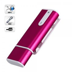 2GB MP3/USB Disk Digital Voice Recorder Red $29.98