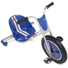 The  Razor Rip- Rider 360 Drifting Ride-on is built with dual inclined rear-caster wheels that makes riding it much more fun for your kids. Kids...