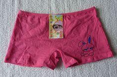 Shorty boxer rose lingerie slip enfant fille taille 3-5 ans / 9-11 ans neuf