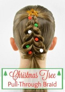 Becky Porter's fabulous Christmas Tree braid.  One of many terrific bloggers in this round up post.