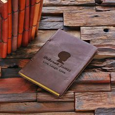 Personalized Leather Notebook Journal