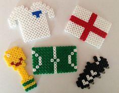 Hama Bead World Cup Crafts FUN!!! Welcoming my fellow BiBs nominees!