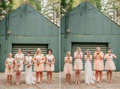 Playful bridesmaids   Catalina Jean Photography