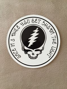 Grateful Dead SYF car magnet or sticker by LoneDuckEnterprises