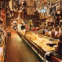 Edinburgh's Top Attractions | Harper's Bazaar - stock up at Valvona and Crolla Deli in Elm Row (top of Leith Walk).