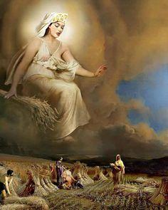 Η Θέα Δήμητρα και οι Ιστορικές Περιπλανήσεις της Ceres Goddess, Earth Goddess, Goddess Art, Demeter Greek Goddess, Mother Goddess, Isis Goddess, Moon Goddess, Classical Mythology, Greek And Roman Mythology