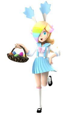 Easter Rosalina [DL] by on DeviantArt Super Mario Bros, Super Smash Bros, Super Mario Princess, Nintendo Princess, Mario Bros., Mario Kart, All Mario Games, Mario Cosplay, Princesa Peach